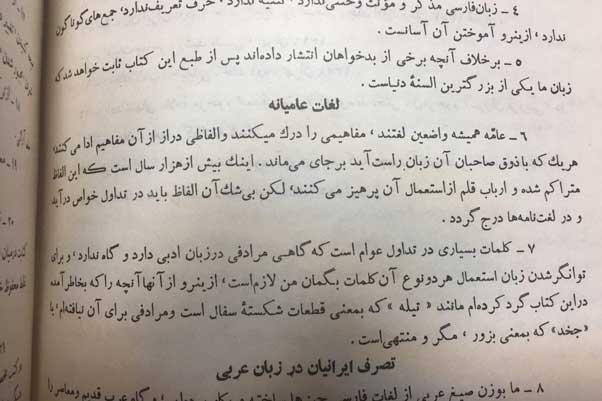 لغات عامیانه در نگاه دهخدا