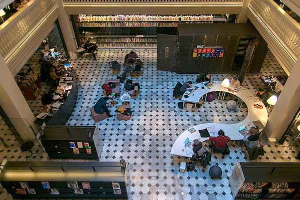 وضع کتابخانهها و کتابخوانی در استانبول