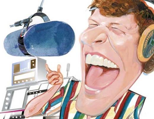 عصبانی شدن گوینده رادیو تهران روی آنتن