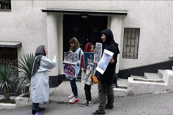 در حاشیهی نمایشگاه نقاشی تهمینه میلانی