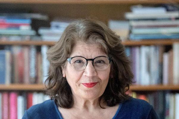 ژیلا مساعد شاعر و نویسندهی ایرانی مقیم سوئد و عضو آکادمی نوبل ادبیات