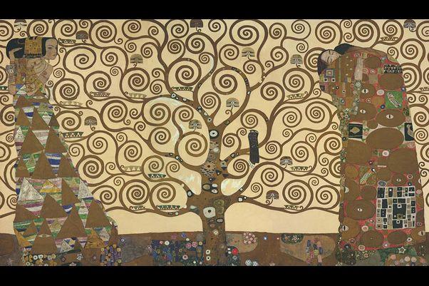 تابلوی «درخت زندگی» اثر گوستاو کلیمت