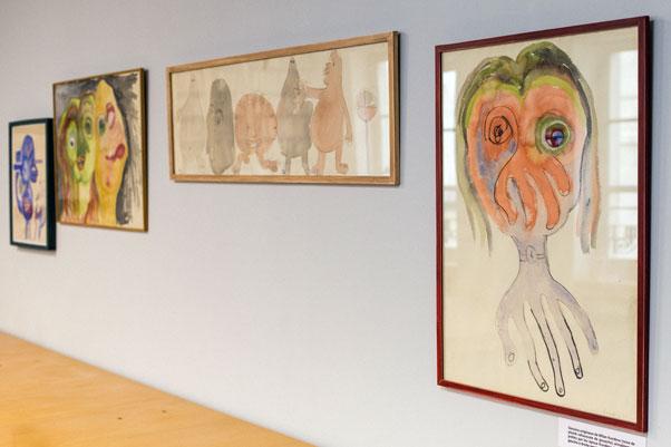 طراحی نقاشی میلان کوندرا